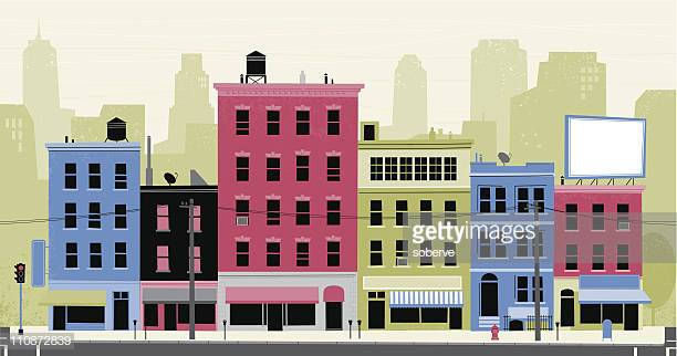 60 Top City Street Stock Illustrations, Clip art, Cartoons, & Icons.