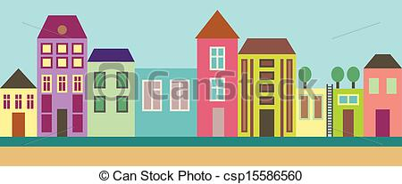 City street Stock Illustration Images. 105,102 City street.