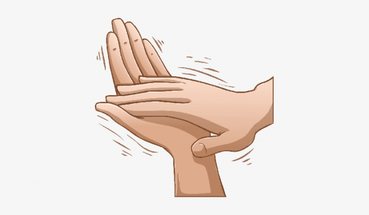 hands clapping clip art.