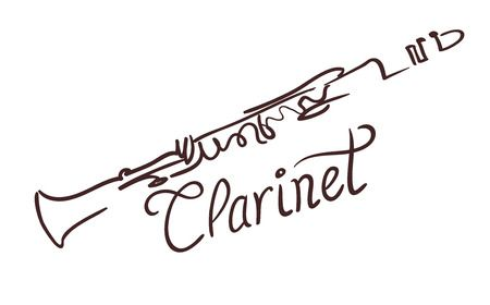 2,392 Clarinet Cliparts, Stock Vector And Royalty Free Clarinet.