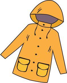Rain coat clipart » Clipart Station.