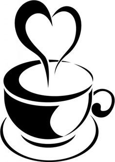 coffee cup coloring page.