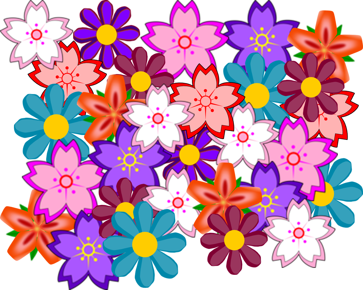 Flower Collage.