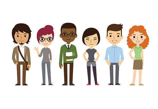 Best College Students Illustrations, Royalty.