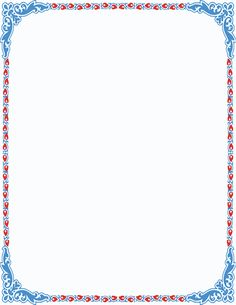 Image result for pretty color page borders clip art ….