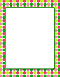 free color clipart photo frame borders #18