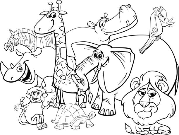 Best Coloring Pages Illustrations, Royalty.