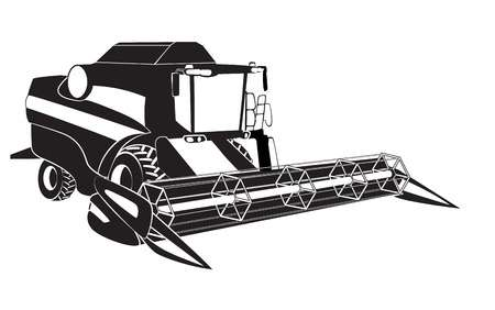 1,443 Combine Harvester Cliparts, Stock Vector And Royalty Free.