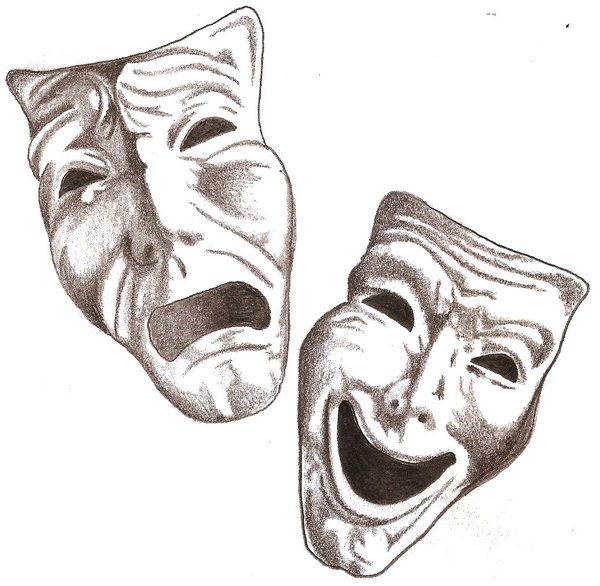 Free Comedy And Tragedy Masks, Download Free Clip Art, Free Clip Art.