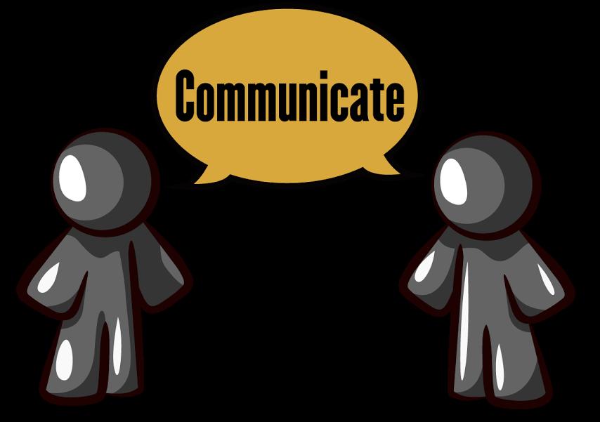 Communicating Clipart.