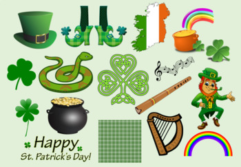 St. Patrick's Day Clipart.