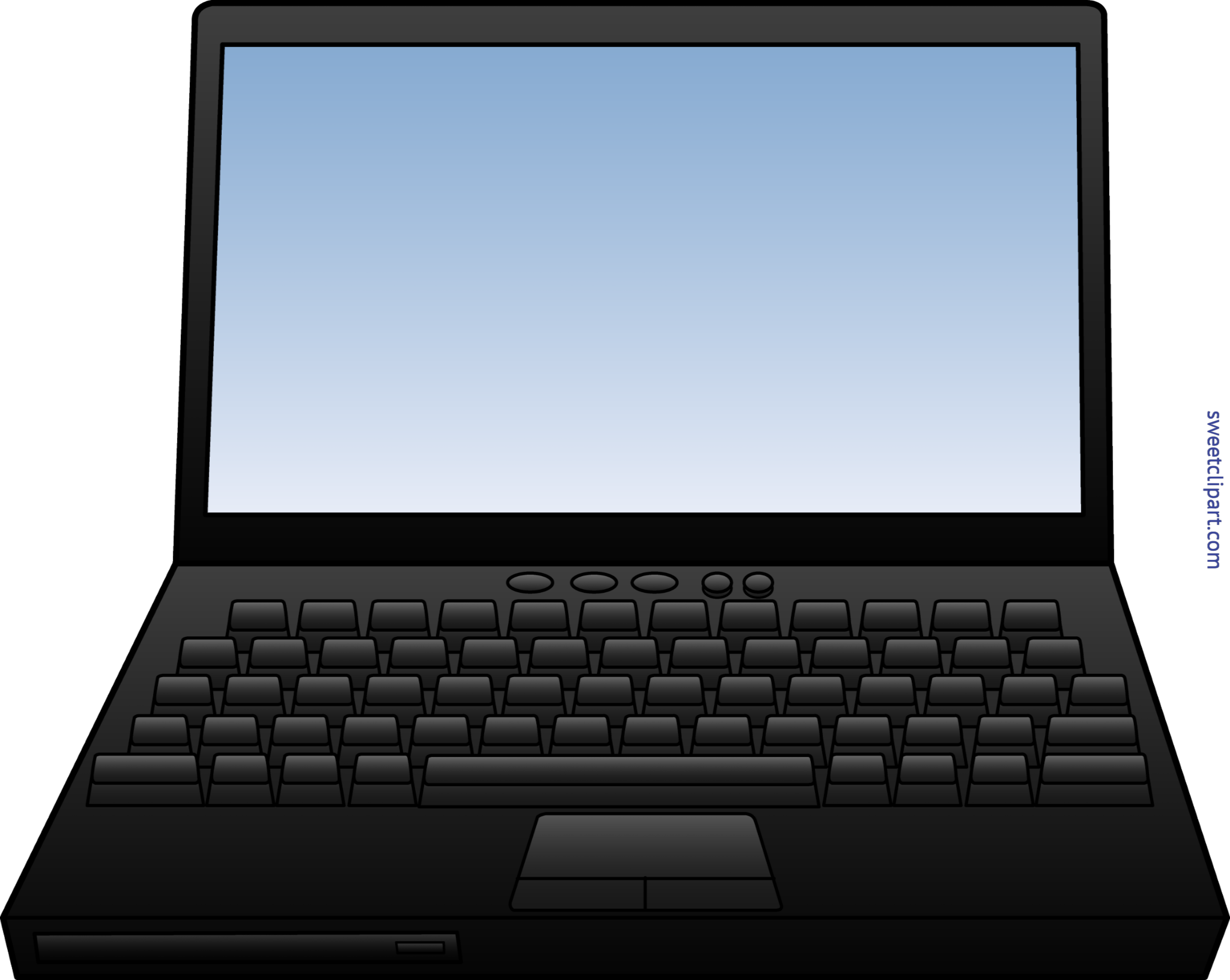 Laptop Computer Clip Art.