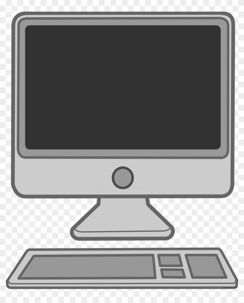 28 Collection Of Mac Computer Clipart.