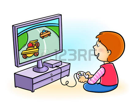 Play computer games clipart 2 » Clipart Station.