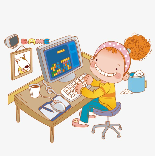 Playing computer games clipart 6 » Clipart Portal.