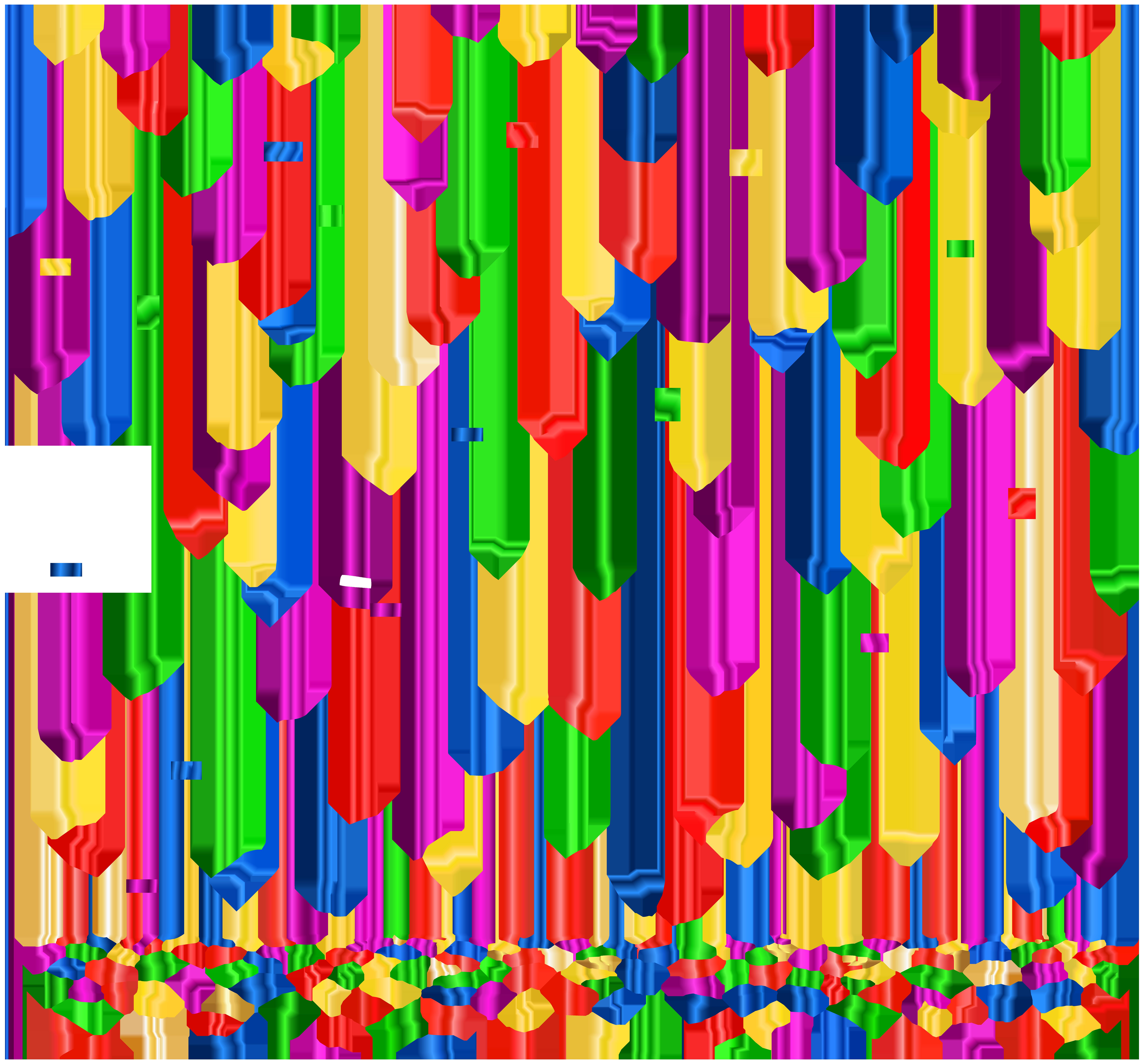 Confetti PNG Clip Art Image.