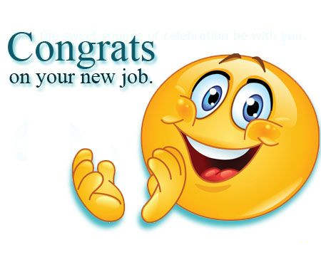 Congratulations On Your Promotion Clipart Printable 2742.