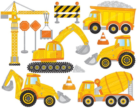 Construction Clipart.