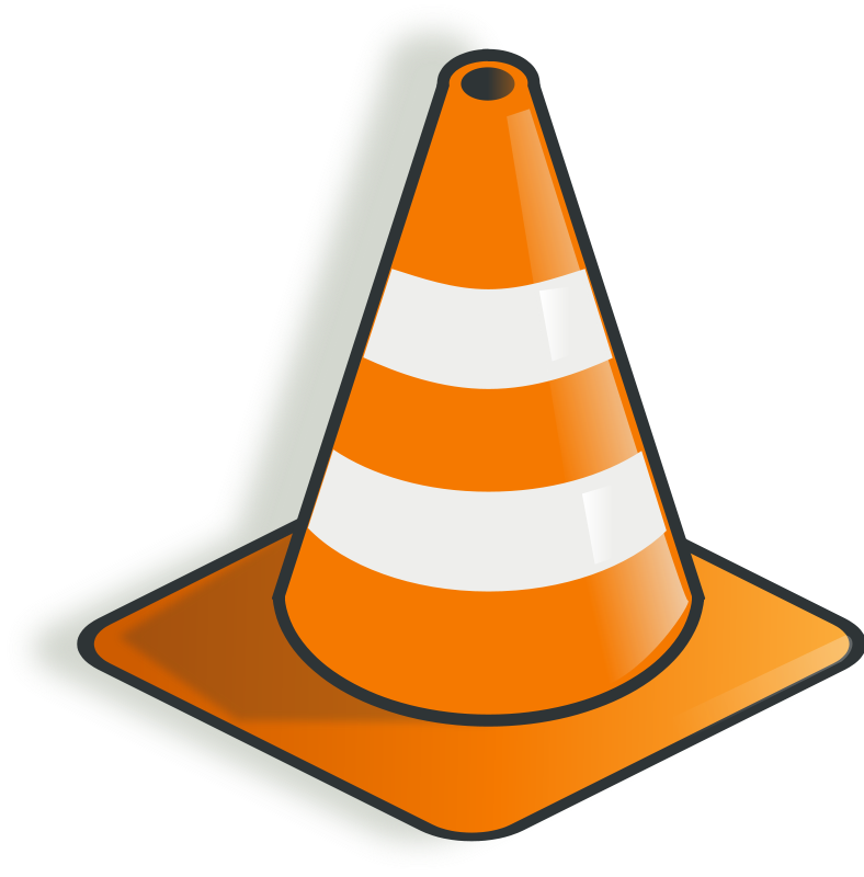 Free Clipart: Construction cone.