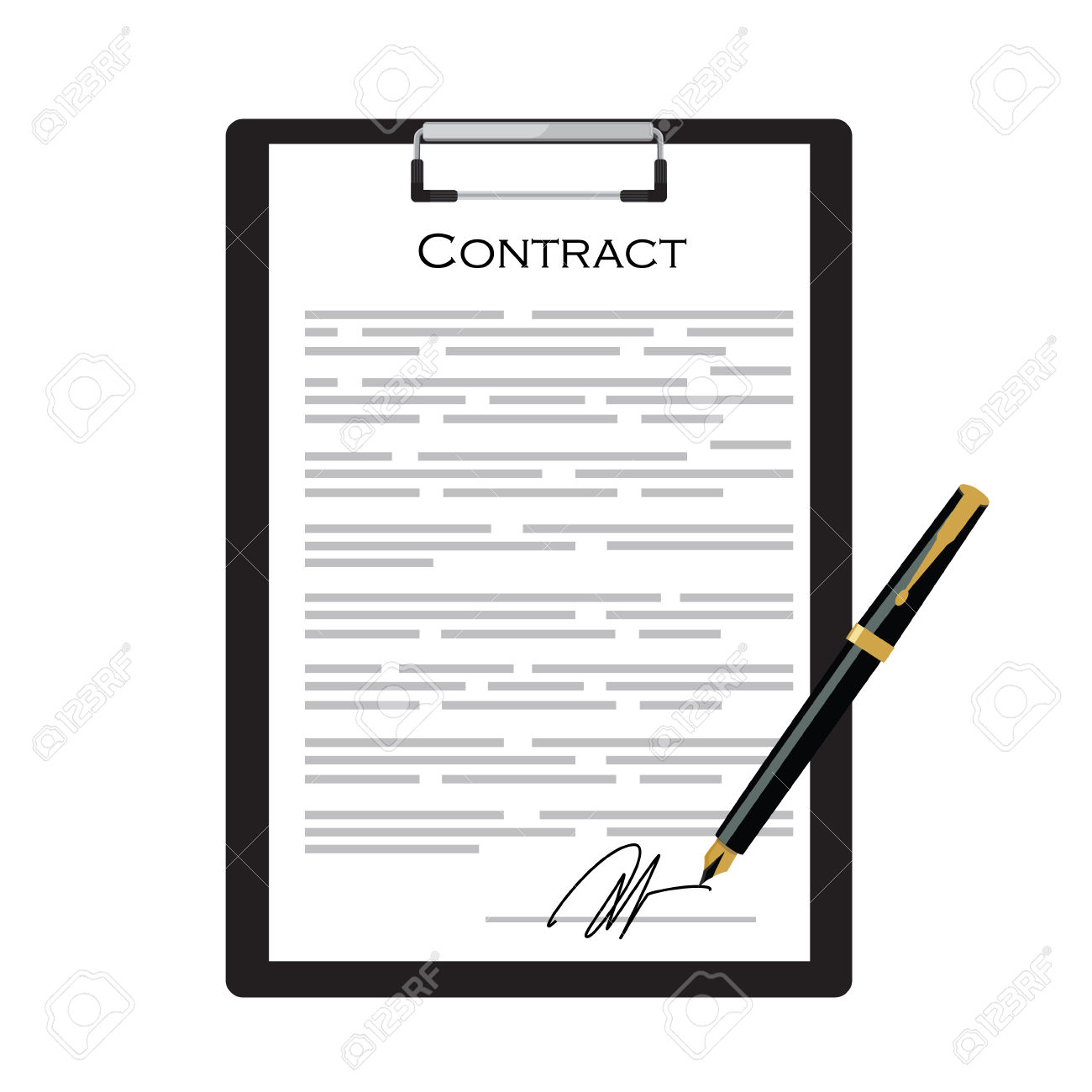 Contract » Clipart Station.