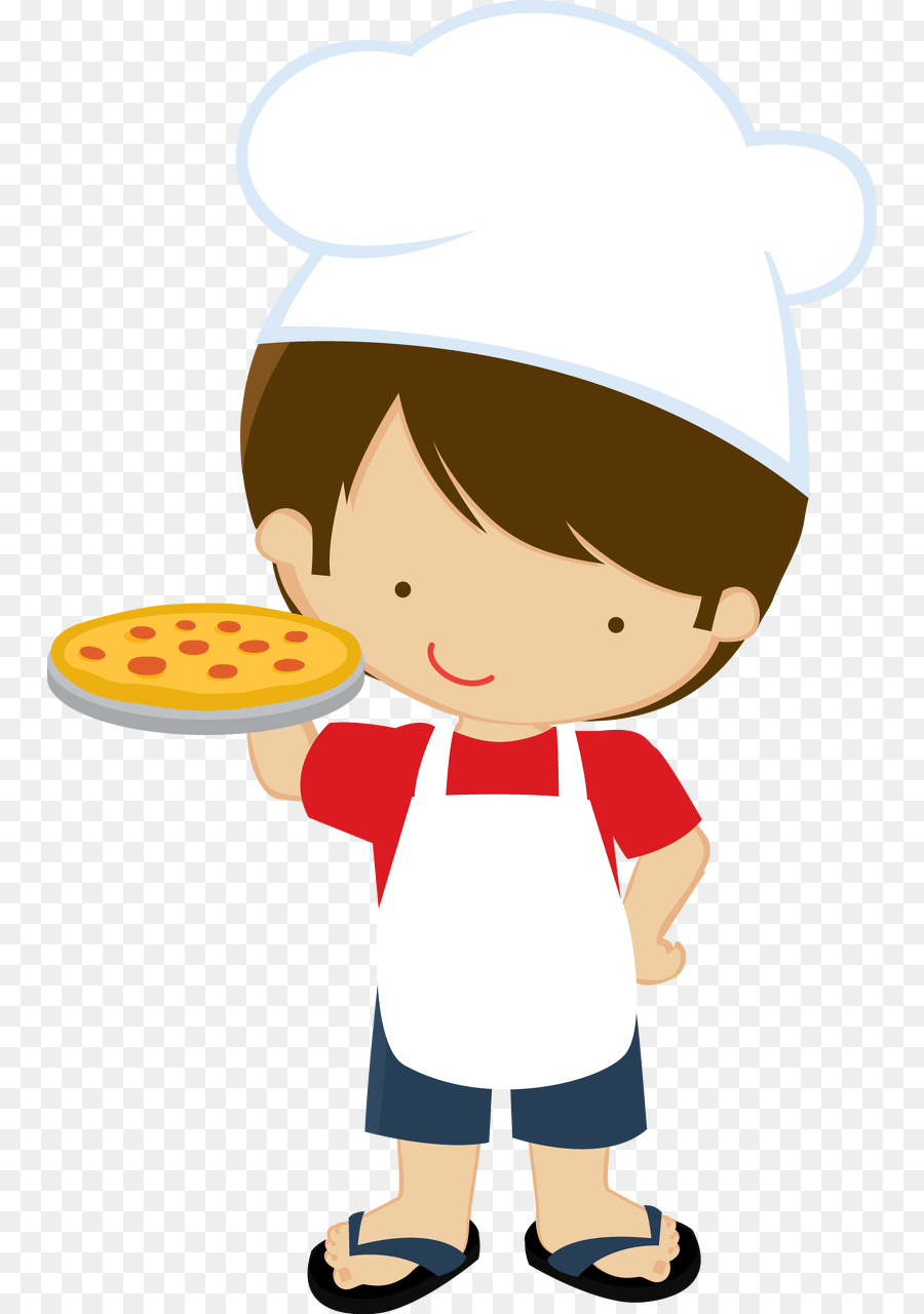 Chef Cooking Child Clip Art.