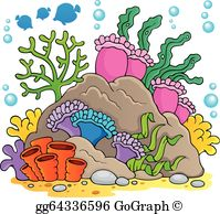 Coral Reef Clip Art.