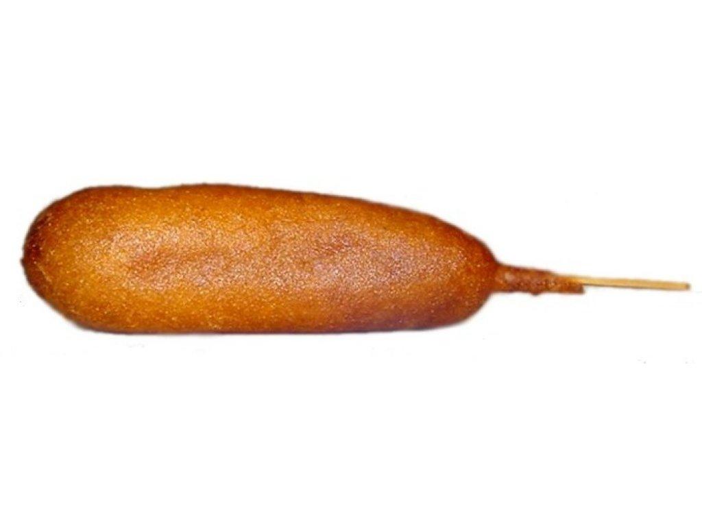 Corn Dog Clip Art free image.