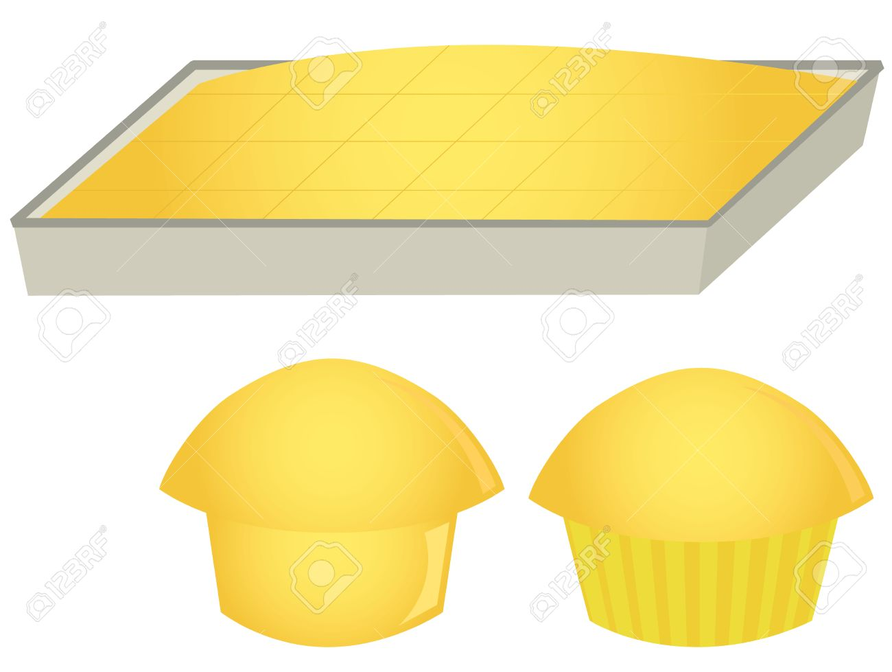 Cornbread and muffins » Clipart Station.