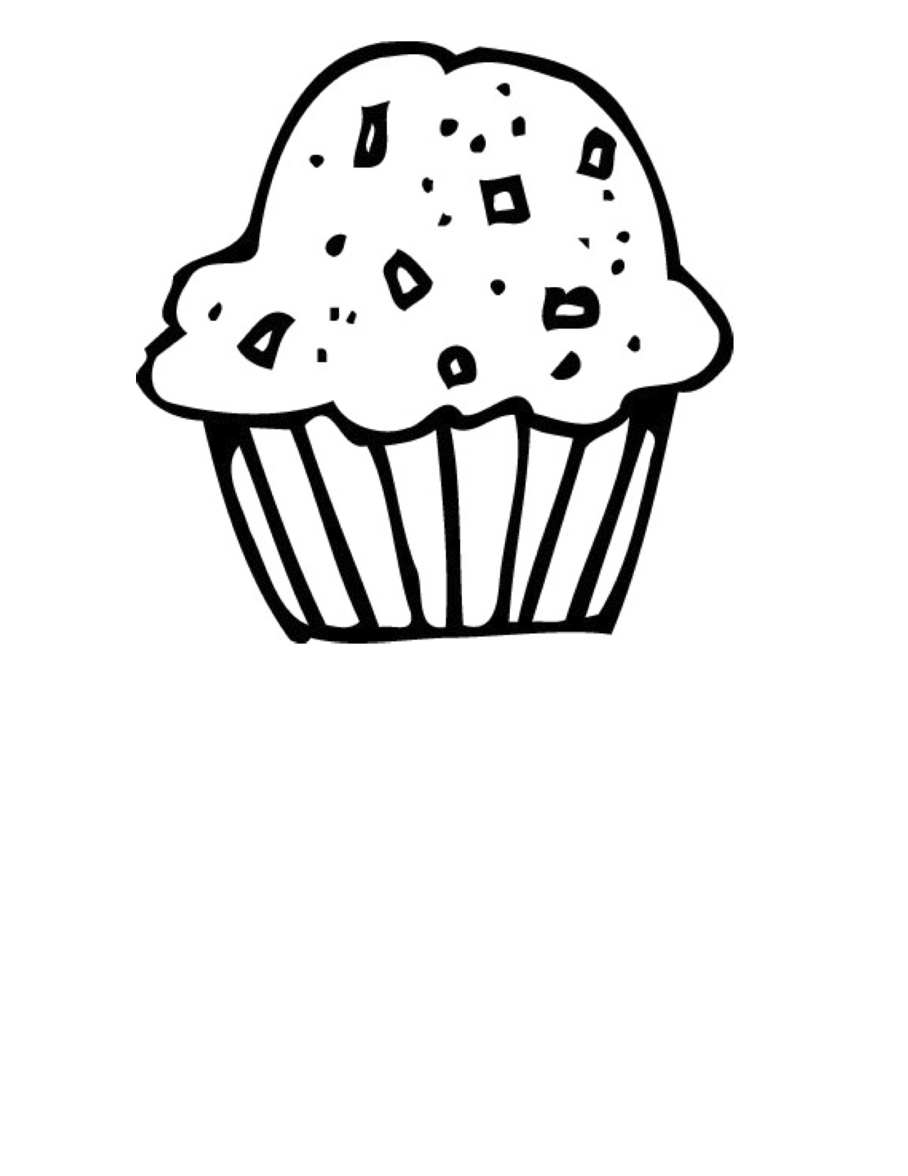 Candy black and white clipart black and white cornbread muffins.