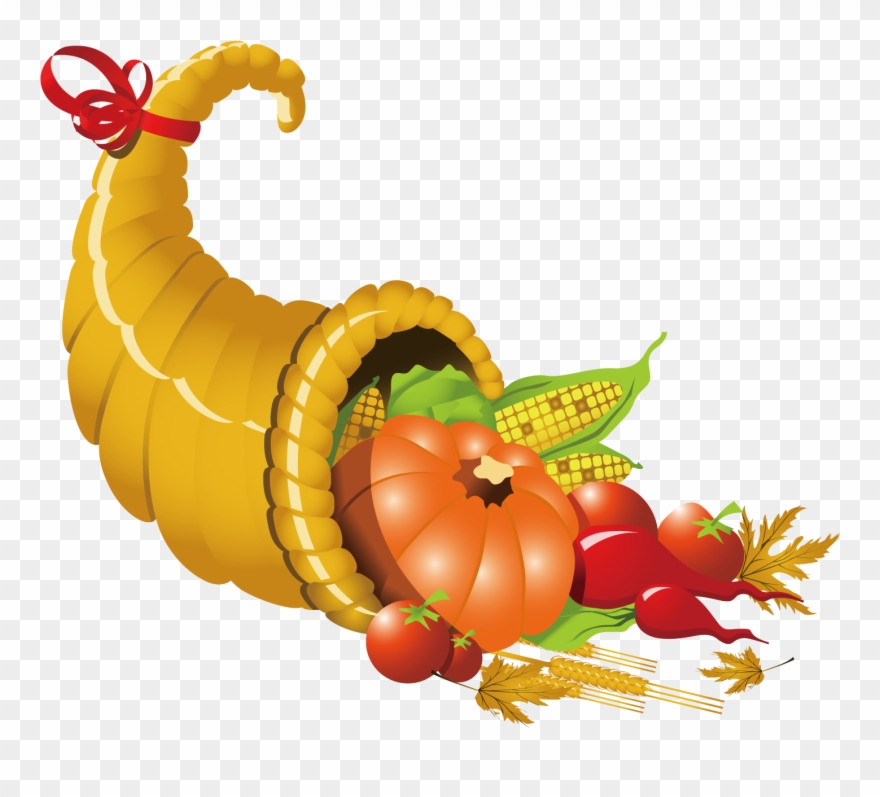 Thanksgiving Cornucopia Clipart At Getdrawings.