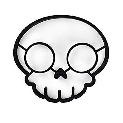 Amazon.com: Funny Side up Skull Egg Corral Egg Shaper Mold Silicone.