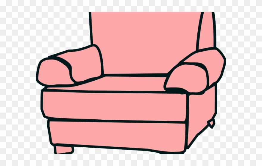 Couch Clipart Single Sofa.
