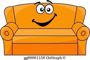 Couch Clip Art.