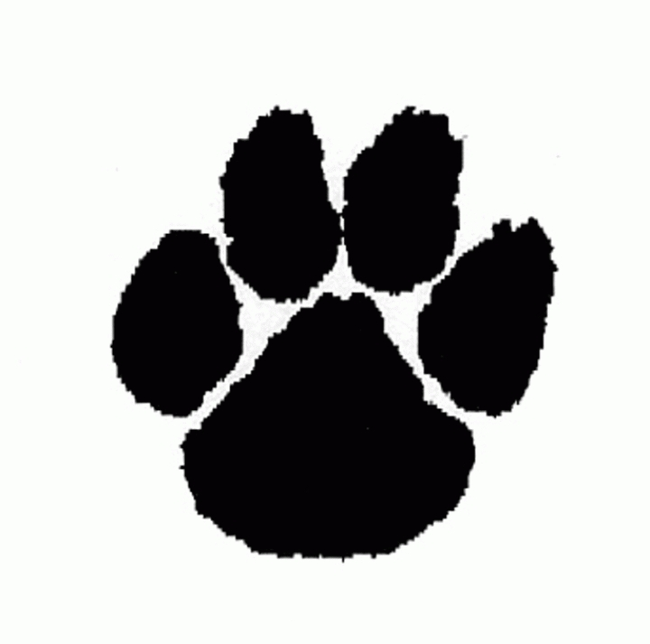 Download Cougar Paw Print Clipart Clipart PNG Free.