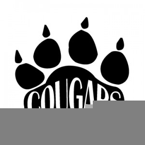 Clipart Cougar Paw Print.
