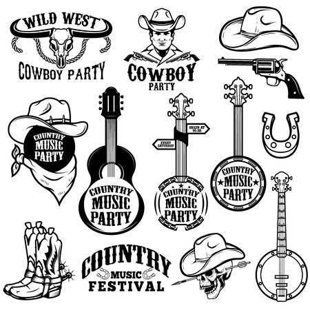 7,573 Country Music Stock Vector Illustration And Royalty Free.