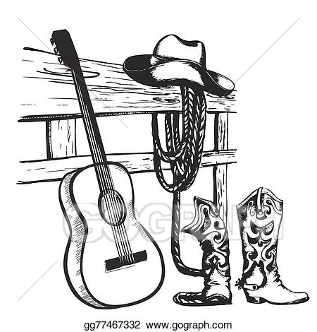 Country Music Clipart 5.