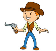 Western Clipart For Kids.