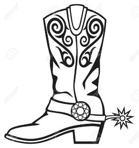 Cowboy Boots Clipart Images.