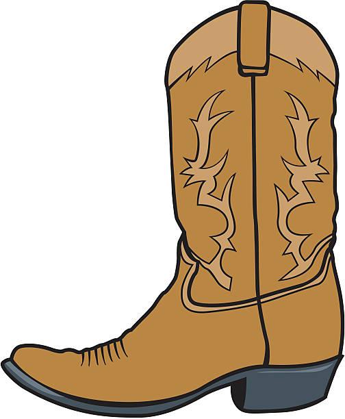 Best Cowboy Boots Illustrations, Royalty.
