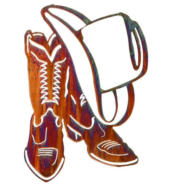 Cowboy Hat And Boots Clipart.