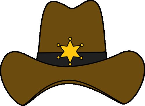Sheriff Cowboy Hat.