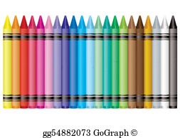 Crayons Clip Art.
