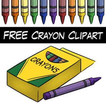 FREE Crayon Clip Art.