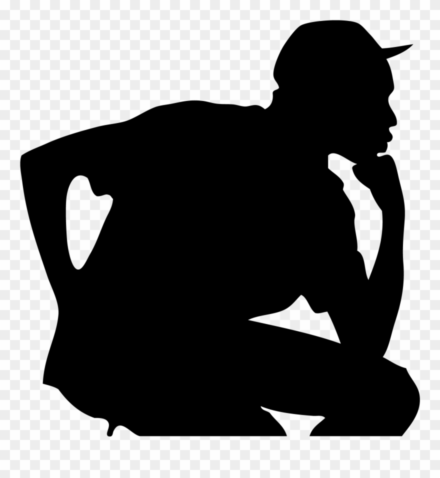 Rapper Silhouette Png Creator Clipart.