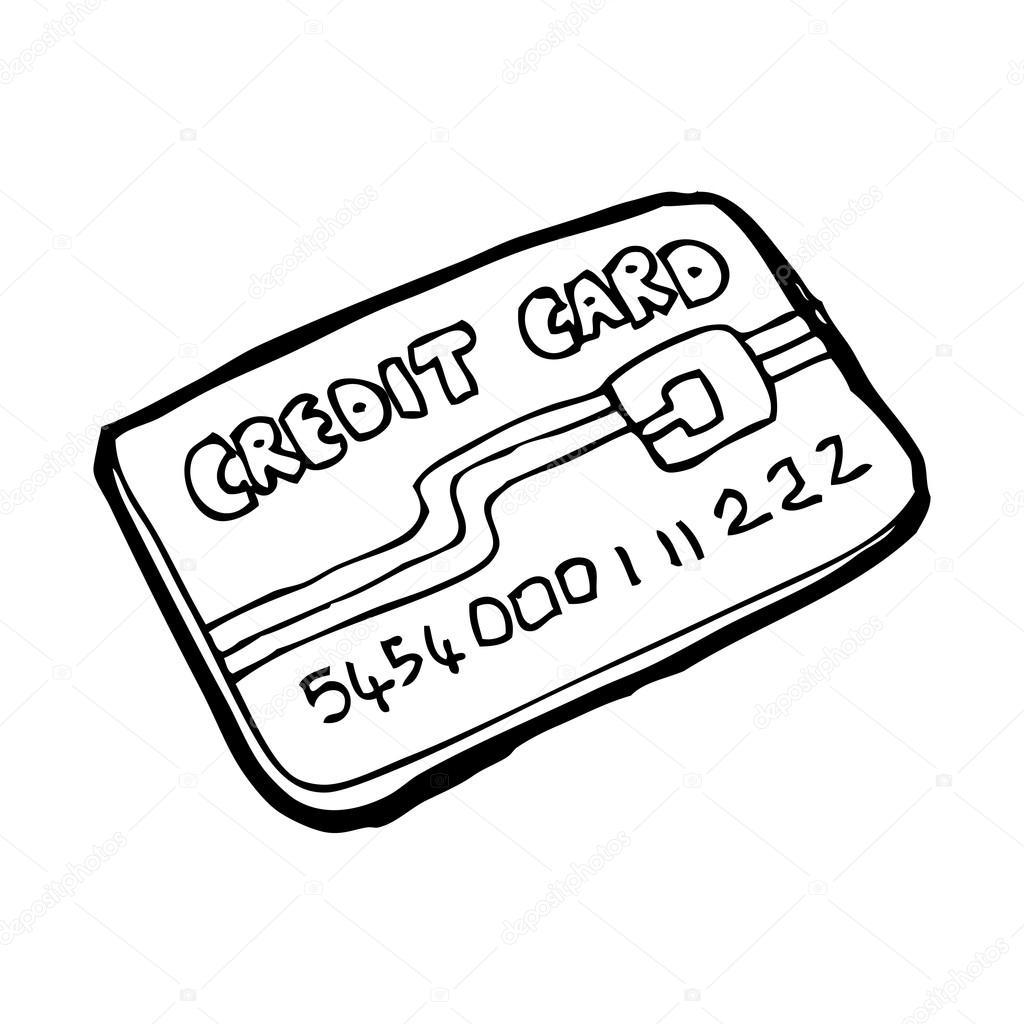 Credit card clipart black and white 4 » Clipart Portal.