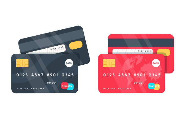 Best Credit Card Illustrations, Royalty.