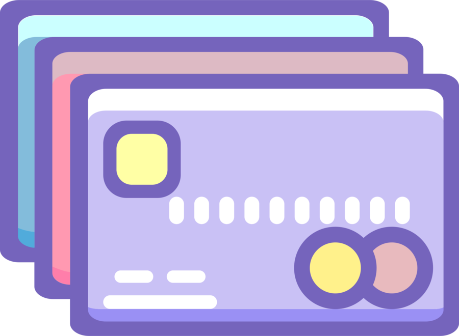 Credit Card Icon clipart.