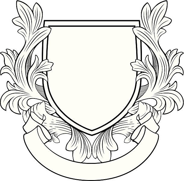 Best Coat Of Arms Illustrations, Royalty.