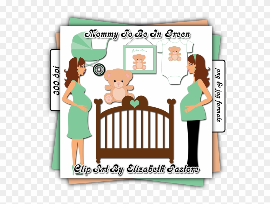 Clipart Baby Crib.